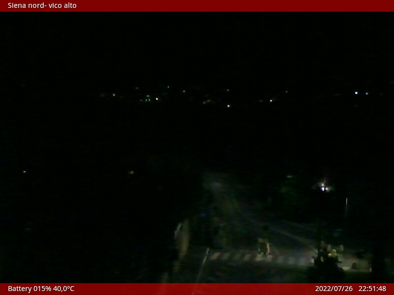 Webcam Siena zona Vico Alto